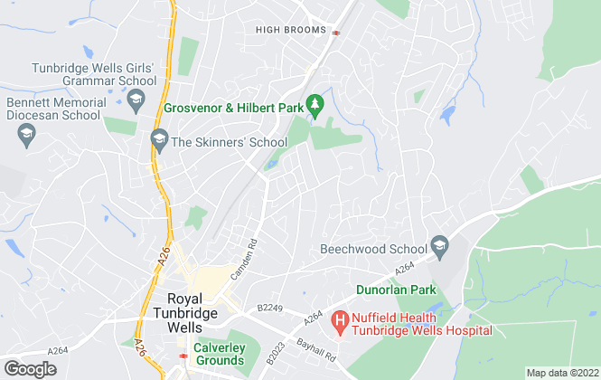 Map for SouthEastPML , Tunbridge Wells