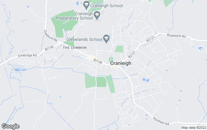 Map for Cubitt & West, Cranleigh