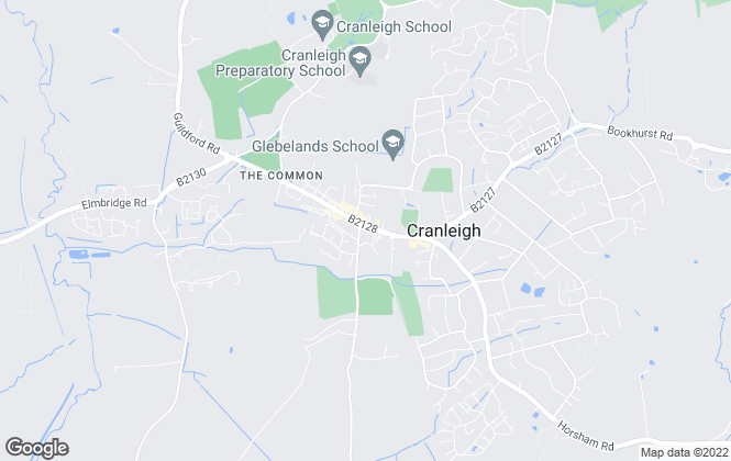 Map for Gascoigne-Pees, Cranleigh