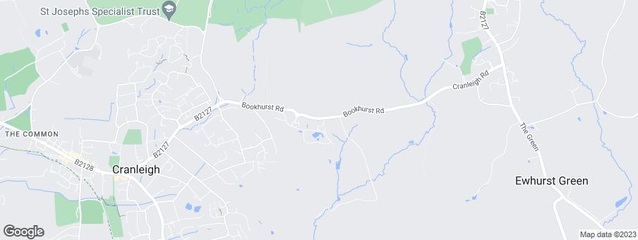 Map for Linden Homes Guildford