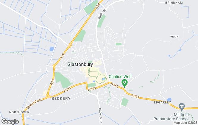 Map for Cooper & Tanner  - Commerical, Glastonbury