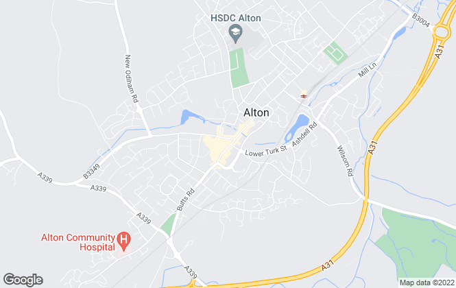 Map for ME Estate Agents, Alton