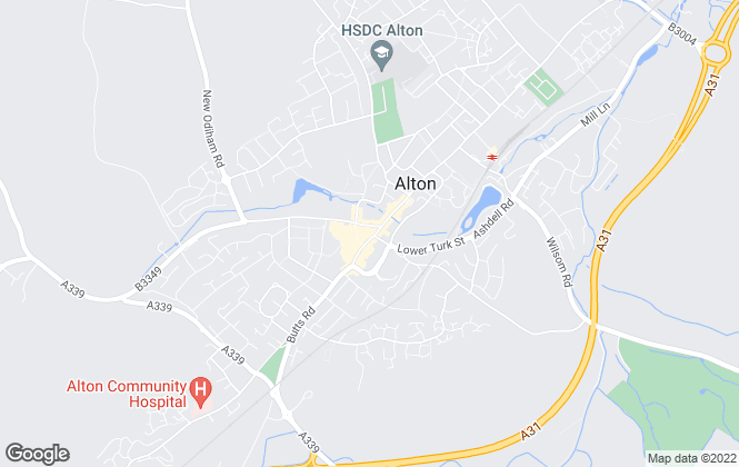 Map for Charters, Alton