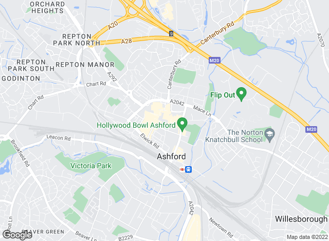 Map for YOUR MOVE, Ashford