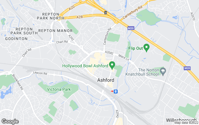 Map for Connells, Ashford