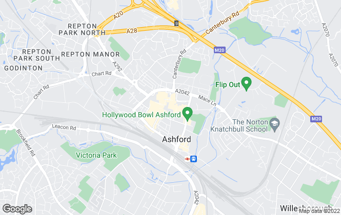Map for Gould & Harrison Estate Agents, Ashford