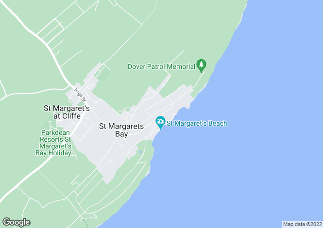 Map for St Margarets Bay