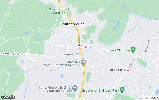 Map for Mother Goose Estate Agency, Tunbridge Wells