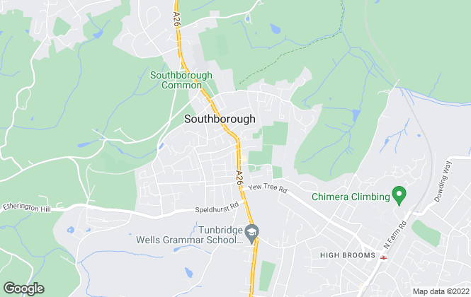 Map for LeGrys Independent Estate Agents, Tunbridge Wells