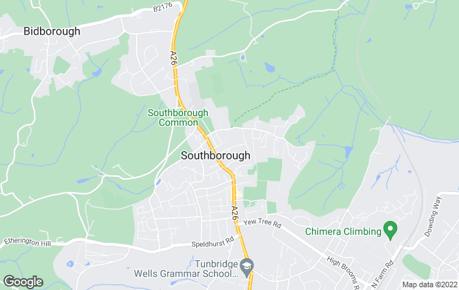 Map for Brettsletts, Tunbridge Wells