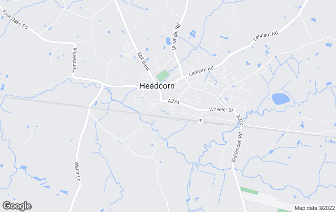 Map for Ward & Partners, Headcorn