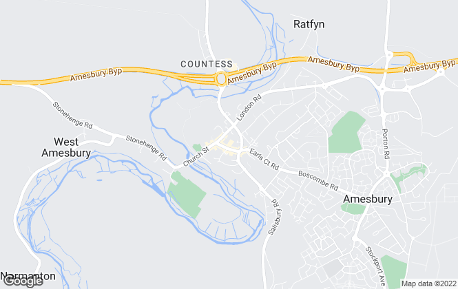 Map for Bassets Property Services Ltd, Amesbury, Wiltshire