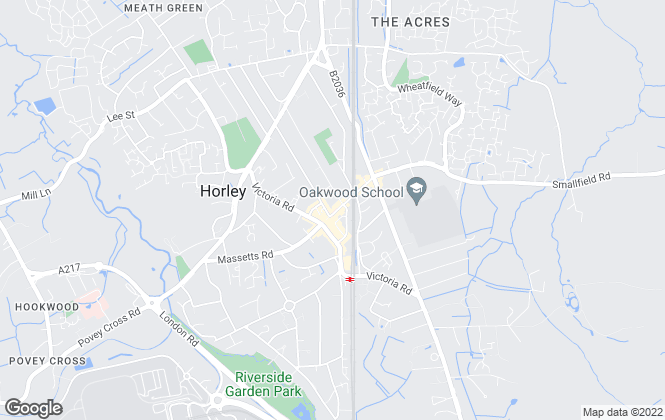 Map for King & Chasemore, Horley