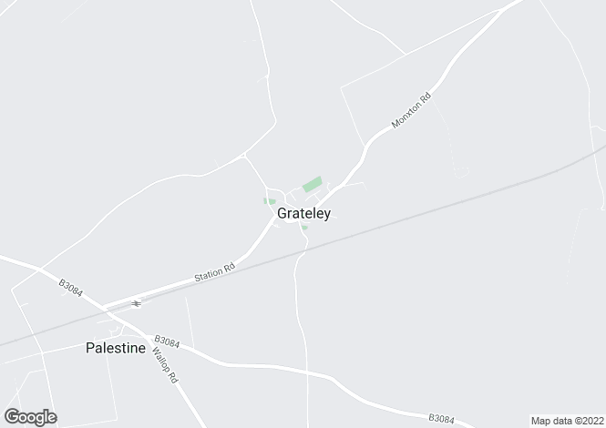 Map for Grateley, Andover, Hampshire
