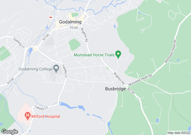 Map for The Drive, Busbridge, Godalming, Surrey, GU7