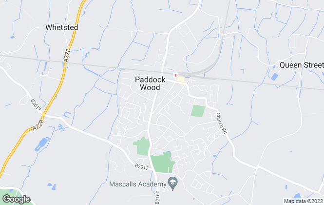 Map for Your Move , Paddock Wood