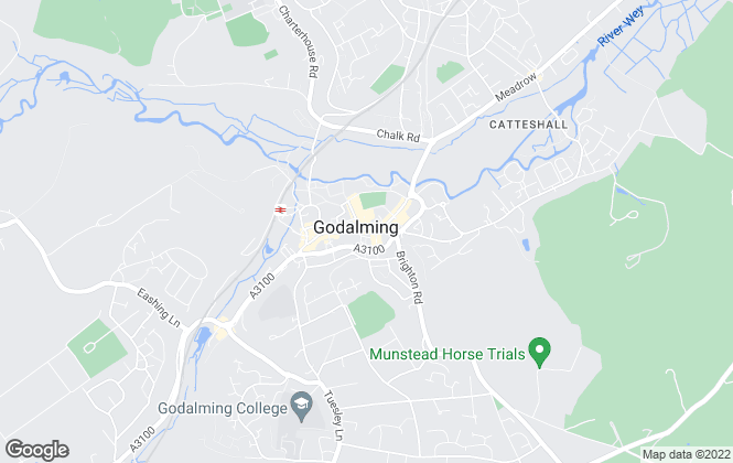 Map for Bourne Estate Agents, Godalming