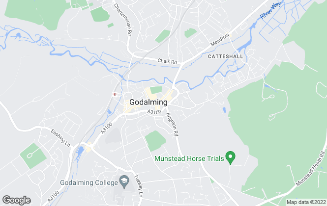 Map for Seymours Estate Agents, Godalming