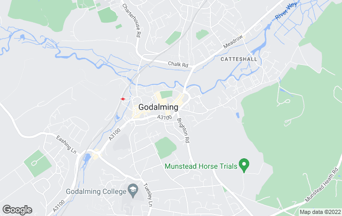 Map for Masella Coupe, Godalming