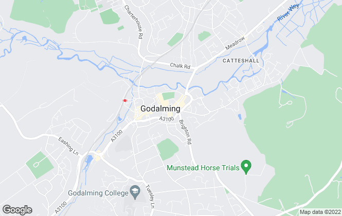 Map for Emery & Orchard, Godalming