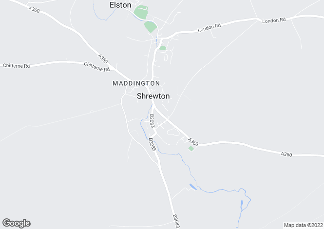 Map for Shrewton, Salisbury