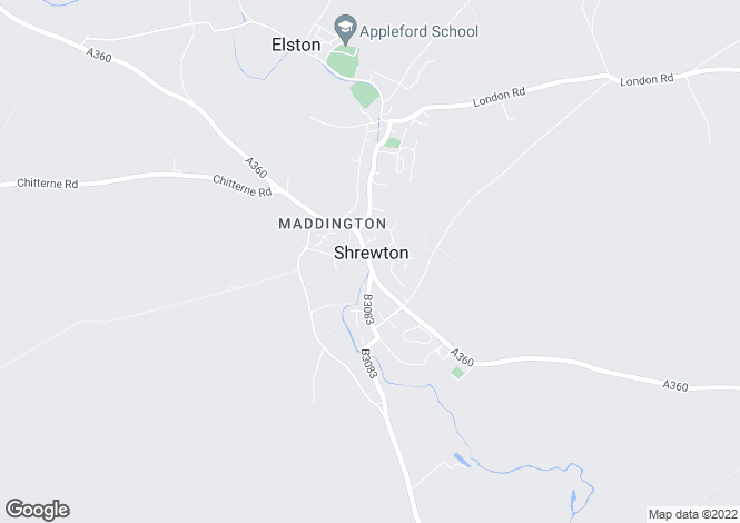 Map for Salisbury Road, Shrewton, Wiltshire