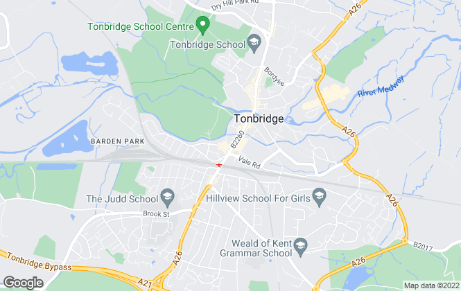 Map for Wood & Pilcher, Tonbridge