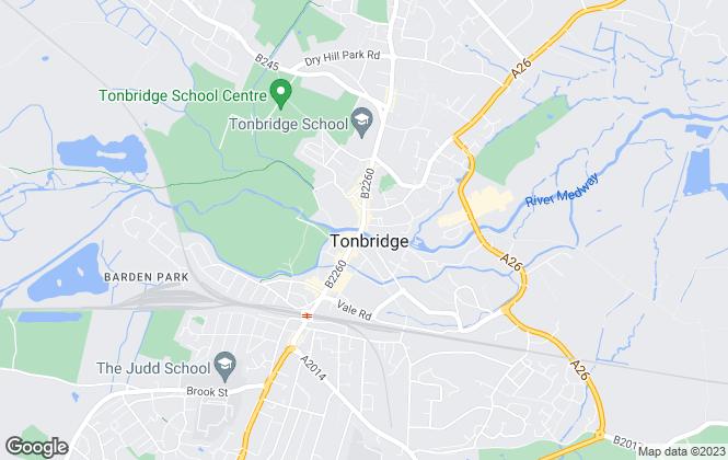 Map for Ellis & Co, Tonbridge