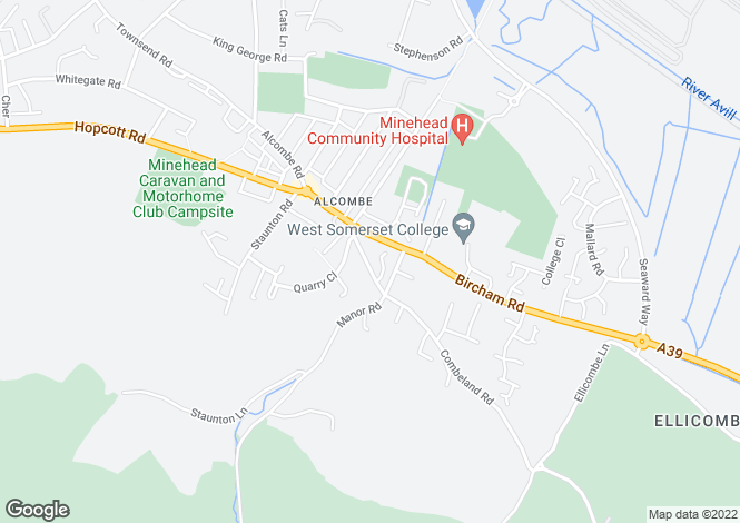 Map for Church Street,