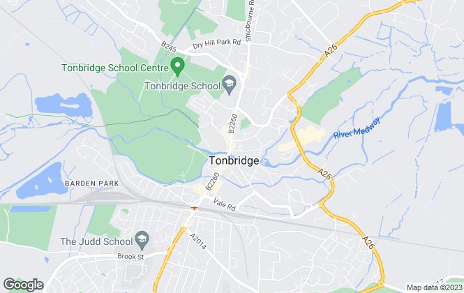 Map for Robinson Jackson, Tonbridge