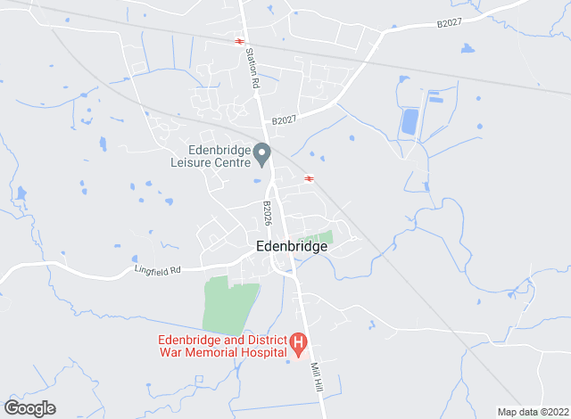 Map for FoxWood Maclean, Edenbridge