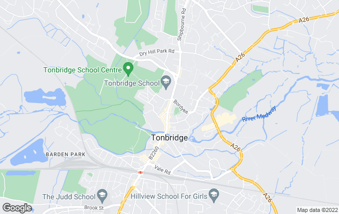 Map for Ibbett Mosely, Tonbridge