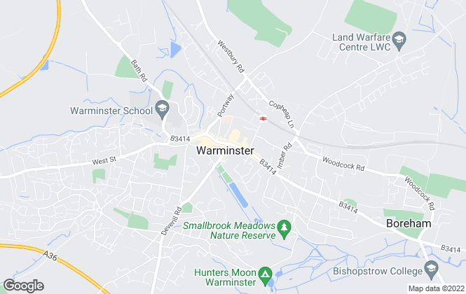 Map for Northwood, Warminster