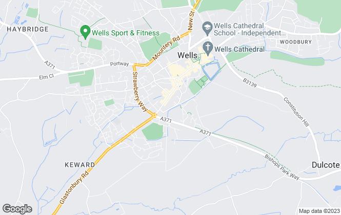 Map for Jill Meadows, Somerset