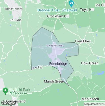 Map of property in Edenbridge
