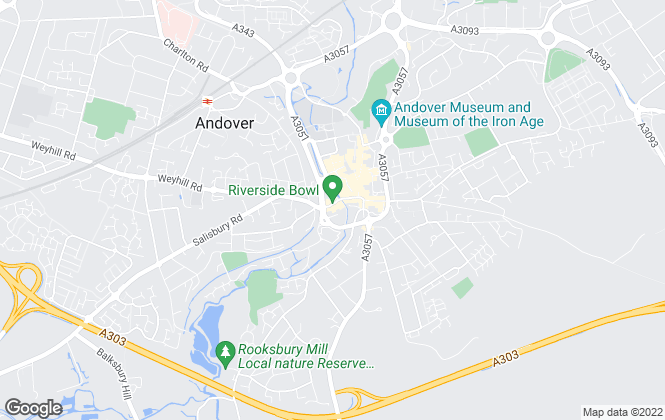 Map for Taylor Hill & Bond, Andover