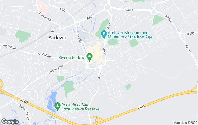 Map for Connells, Andover