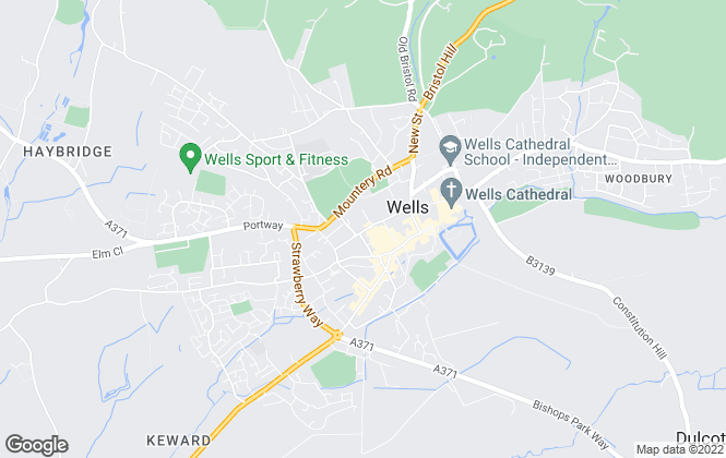 Map for Lodestone Property, Wells