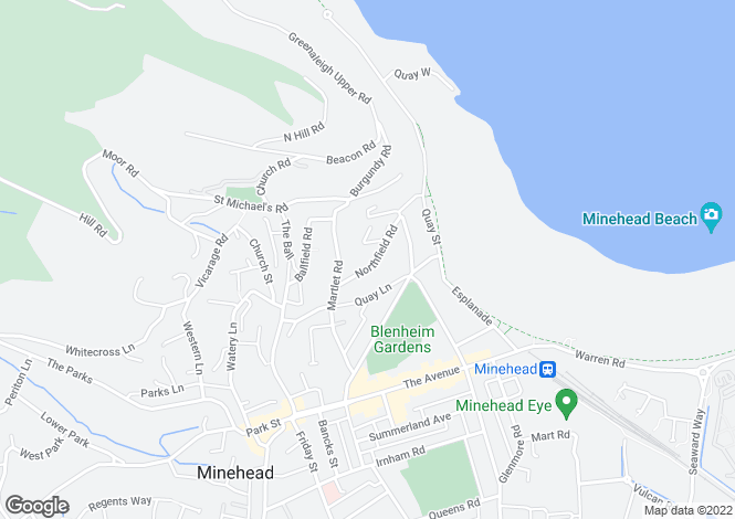 Map for Northfield Road,