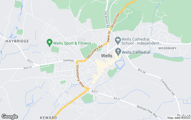 Map for Carter Jonas, Wells