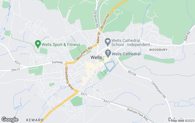 Map for Allen & Harris, Wells