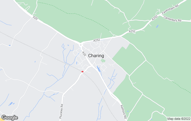 Map for Andrew & Co Estate Agents, Charing