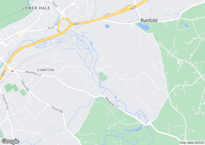 Map for Moor Park House Way, Farnham, Surrey, GU10