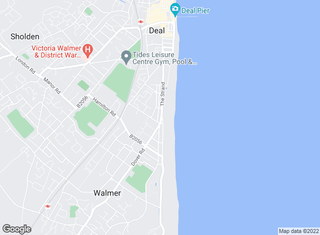 Map for Colebrook Sturrock, Walmer