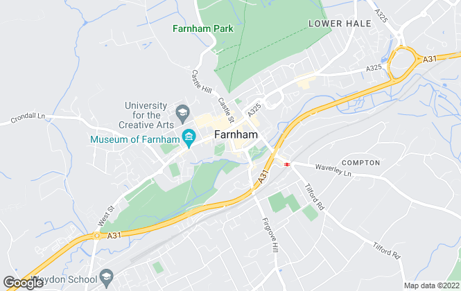 Map for Keats Fearn, Farnham