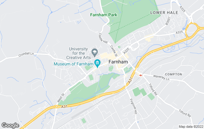 Map for Winkworth, Farnham