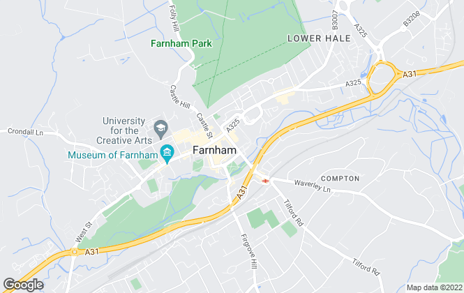 Map for Castles, Farnham