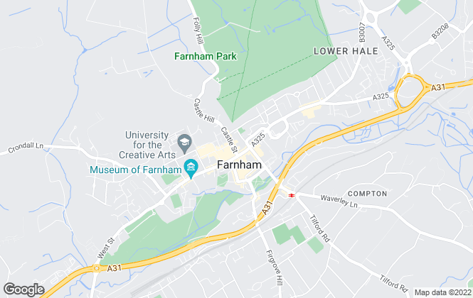 Map for Seymours Estate Agents (Farnham) Ltd, Farnham