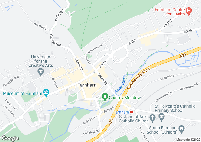 Map for Pace & Cambridge House,