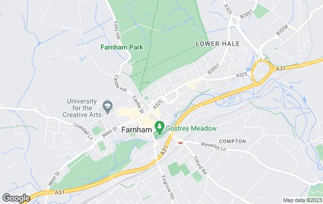 Map for Park Steele, Surrey